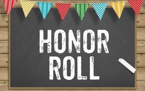 1st quarter principal list/honor roll for high school and middle school !