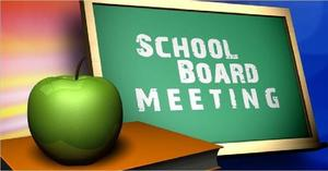 School Board Meeting Tonight