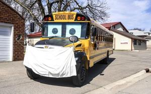 Students will be required to wear masks on the school bus.