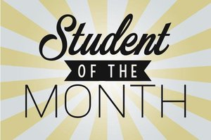 Congratulations to the following students of the month of March!