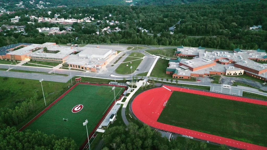 Drone image of GHS and GMS