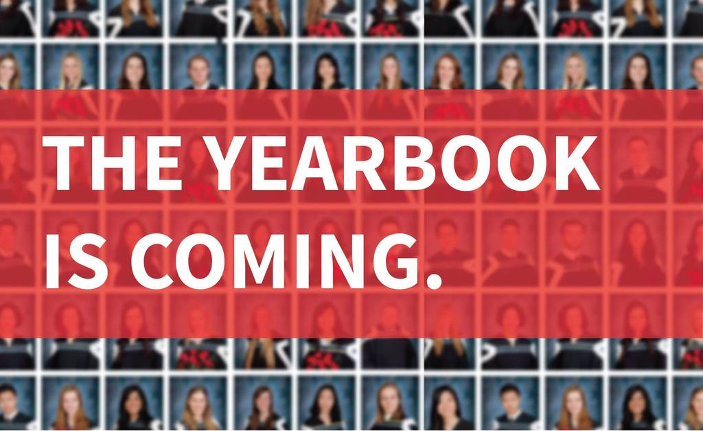 The yearbooks are coming